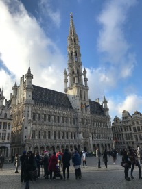 The Grand Place, Brussels, Belgium, Jan. 2018