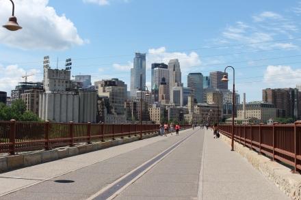Stone Arch Bridge, Minneapolis, MN, June 2015