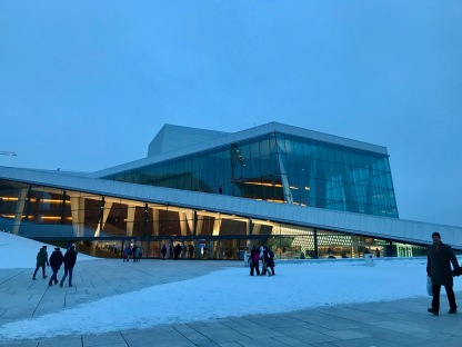 Oslo Opera House, Oslo, Norway, Feb. 2018