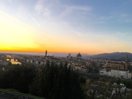 Piazzale Michelangelo, Florence, Italy, April 2016