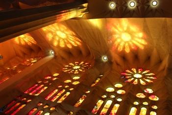 Sagrada Familia, Barcelona, Spain, Jan. 2016