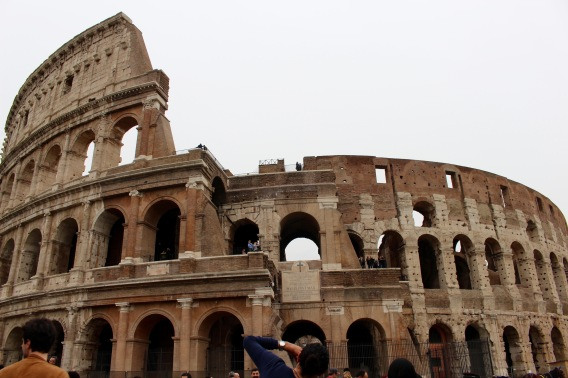 Colosseum, Rome, Italy, April 2016