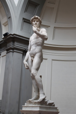 Statue of David, Florence, Italy, April 2016