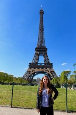 Eiffel Tower, Paris, France, May 2016