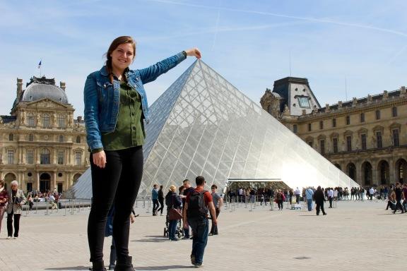 Le Louvre, Paris, France, May 2016