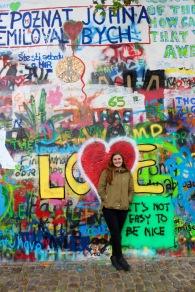 John Lennon Wall, Czech Republic, Prague, May 2016