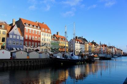 Nayhavn, Copenhagen, Denmark, Dec. 2017