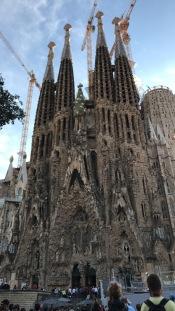 Sagrada Familia, Barcelona, Spain, Oct. 2017