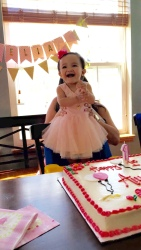Amelia's First Birthday, Grafton, WI, June 2016
