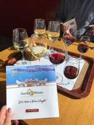 Wine Tasting at Santo Wines, Santorini, Greece, Mar. 2018