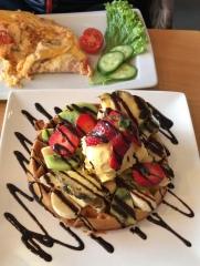 Birthday Breakfast, Santorini, Greece, Mar. 2018
